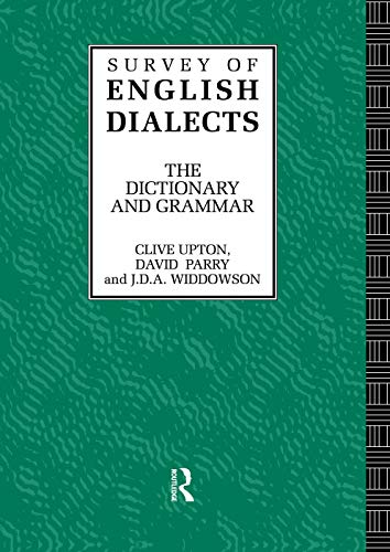 Survey English Dialects: BARRY, MICHAEL V.