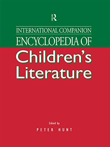 International Companion Encyclopedia of Children's Literature: Hunt, Peter