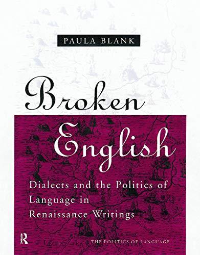 9780415756846: Broken English (The Politics of Language)