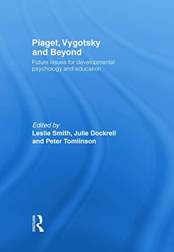 pyschology piaget and vygotsky