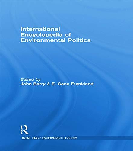 9780415757713: International Encyclopedia of Environmental Politics