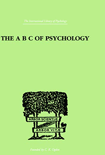 9780415758017: The A B C Of Psychology