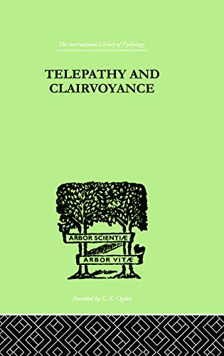 9780415758109: Telepathy and Clairvoyance