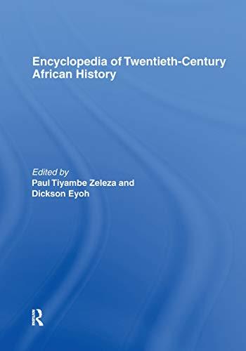 Encyclopedia of Twentieth-Century African History: Eyoh,Dickson