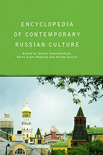 9780415758628: Encyclopedia of Contemporary Russian Culture (Encyclopedias of Contemporary Culture)