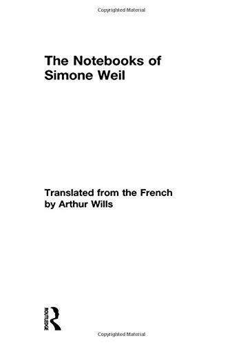 9780415758765: The Notebooks of Simone Weil