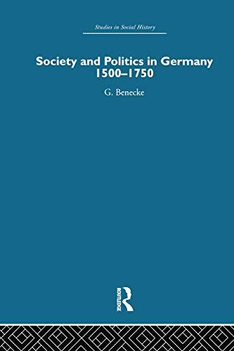 9780415759571: Society and Politics in Germany