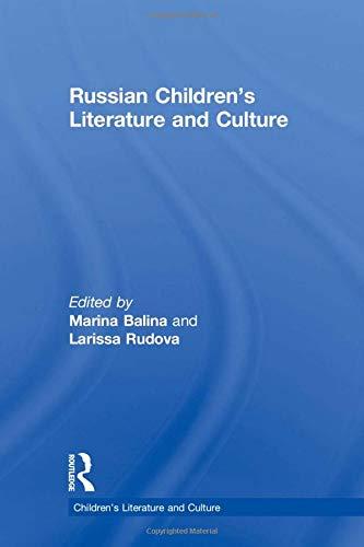 9780415759793: Russian Children's Literature and Culture