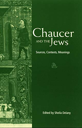 9780415762359: Chaucer and the Jews