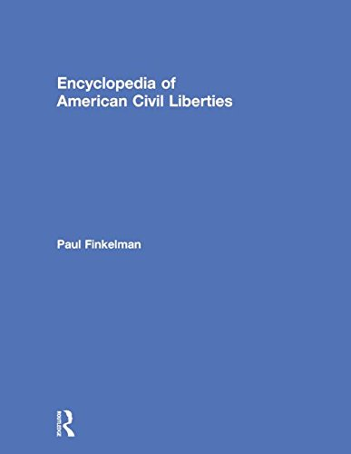 9780415762373: Encyclopedia of American Civil Liberties