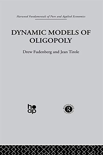 9780415771238: Dynamic Models of Oligopoly (Fundamentals of Pure and Applied Economics)
