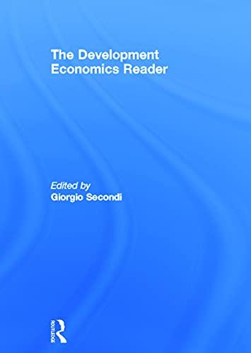 9780415771566: The Development Economics Reader