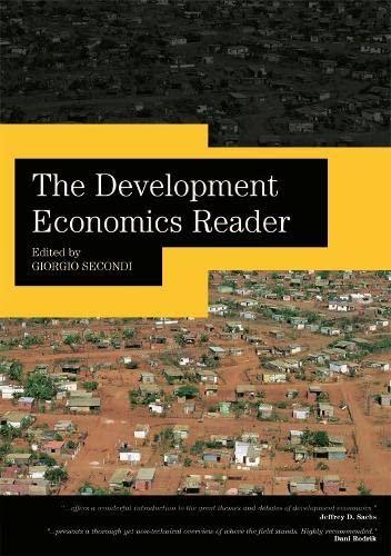 9780415771573: The Development Economics Reader