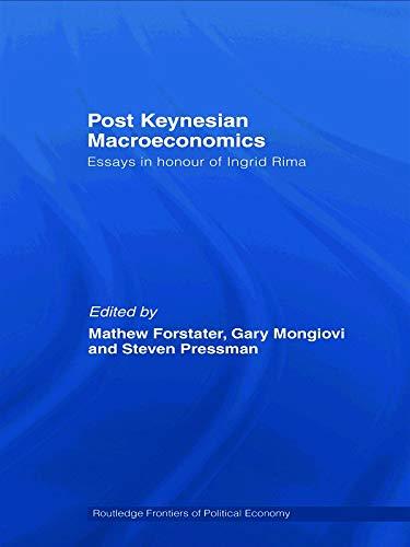 9780415772310: Post-Keynesian Macroeconomics: Essays in Honour of Ingrid Rima (Routledge Frontiers of Political Economy)
