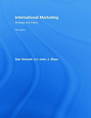 9780415772617: International Marketing: Strategy and Theory