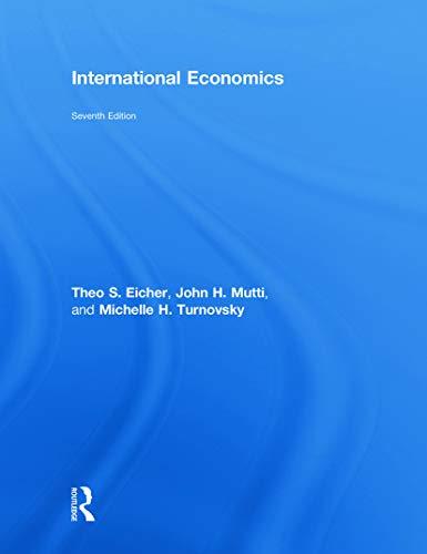 9780415772853: International Economics