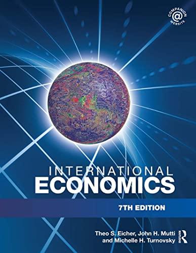 9780415772860: International Economics