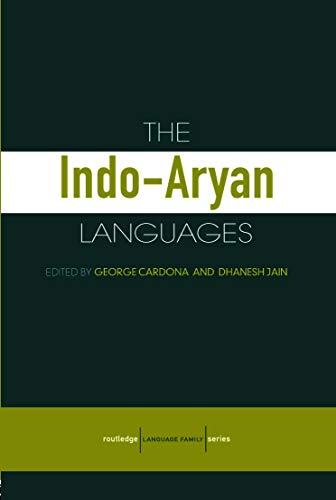 9780415772945: The Indo-Aryan Languages (Routledge Language Family Series)
