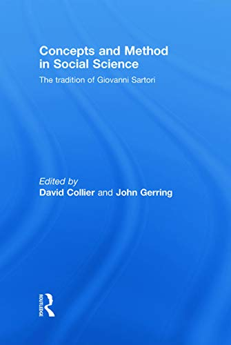 9780415775779: Concepts and Method in Social Science: The Tradition of Giovanni Sartori