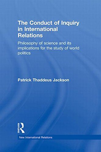 9780415776264: The Conduct of Inquiry in International Relations: Philosophy of Science and Its Implications for the Study of World Politics (New International Relations)