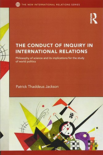 9780415776271: The Conduct of Inquiry in International Relations: Philosophy of Science and Its Implications for the Study of World Politics (New International Relations)