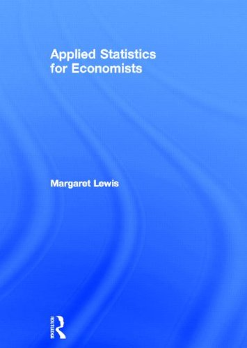 9780415777988: Applied Statistics for Economists