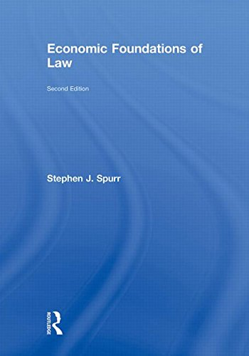 9780415778527: Economic Foundations of Law second edition