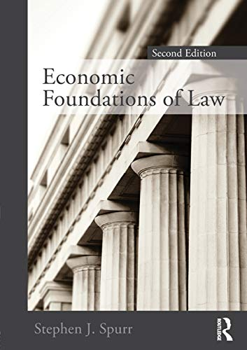 9780415778534: Economic Foundations of Law second edition