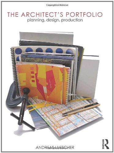 9780415779012: The Architect's Portfolio: Planning, Design, Production