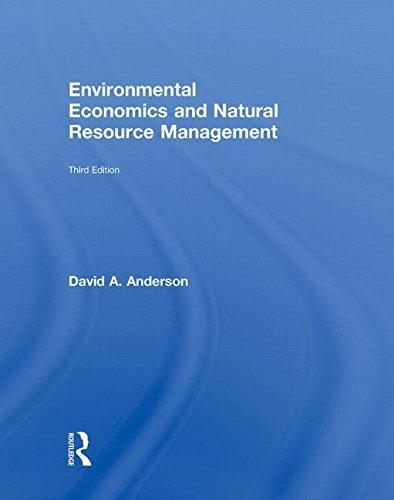 9780415779043: Environmental Economics and Natural Resource Management Third Edition