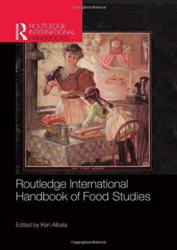 9780415782647: Routledge International Handbook of Food Studies (Routledge International Handbooks)