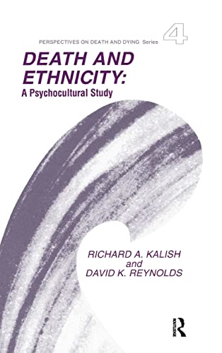 9780415785808: Death and Ethnicity: A Psychocultural Study
