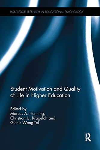 9780415787901: Student Motivation and Quality of Life in Higher Education (Routledge Research in Educational Psychology)