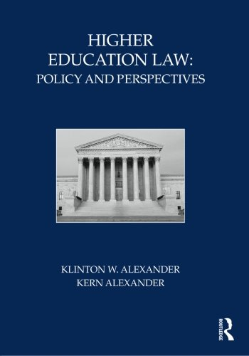 9780415800310: Higher Education Law: Policy and Perspectives