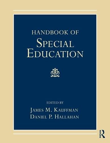 9780415800723: Handbook of Special Education