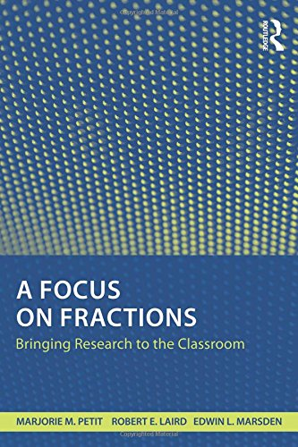 9780415801515: A Focus on Fractions: Bringing Research to the Classroom (Studies in Mathematical Thinking and Learning Series)