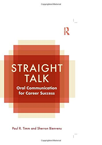 9780415801973: Straight Talk: Oral Communication for Career Success