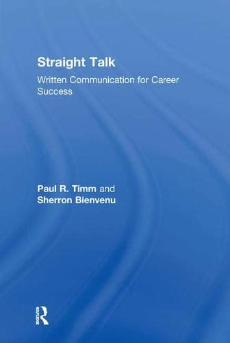 9780415802314: Straight Talk: Written Communication for Career Success