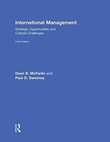 9780415802970: International Management: Strategic Opportunities & Cultural Challenges