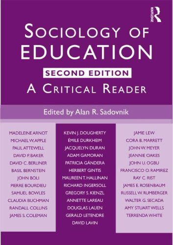 9780415803694: Sociology of Education: A Critical Reader