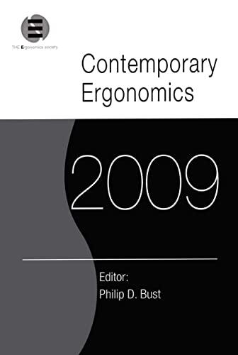 9780415804332: Contemporary Ergonomics 2009: Proceedings of the International Conference on Contemporary Ergonomics 2009