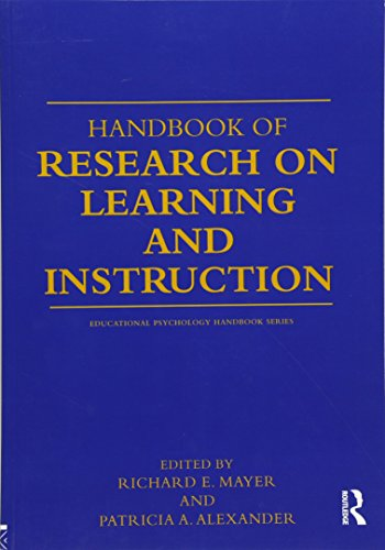 9780415804615: Handbook of Research on Learning and Instruction (Educational Psychology Handbook)