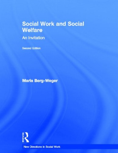 9780415805032: Social Work and Social Welfare: An Invitation (New Directions in Social Work)