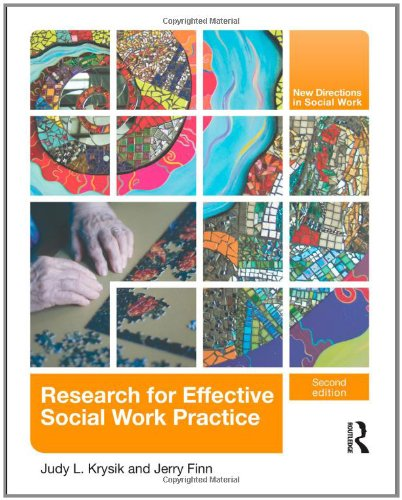 9780415805063: Research for Effective Social Work Practice (New Directions in Social Work)