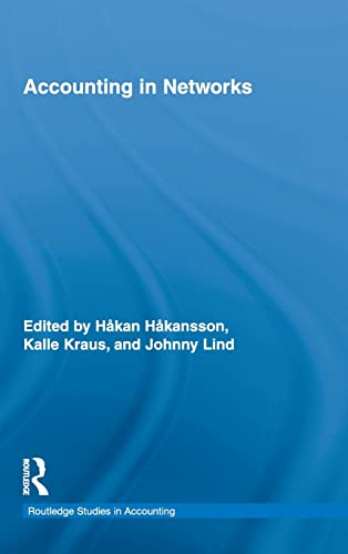 9780415806473: Accounting in Networks (Routledge Studies in Accounting)