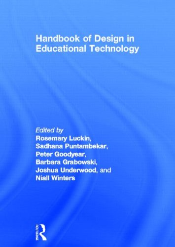 9780415807340: Handbook of Design in Educational Technology