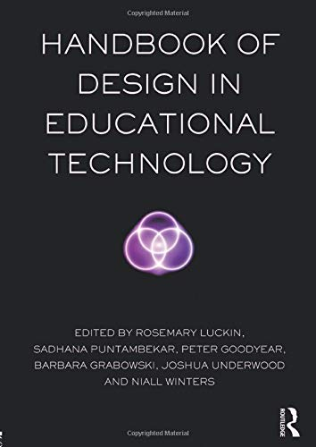9780415807357: Handbook of Design in Educational Technology