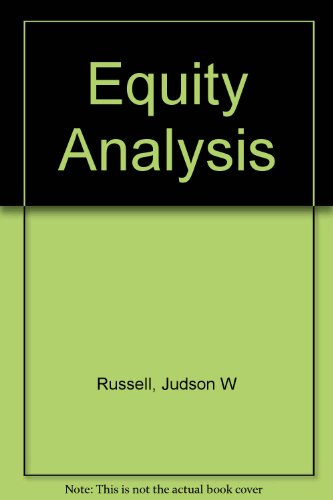 9780415807616: Equity Analysis