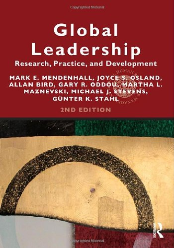 9780415808859: Global Leadership 2e: Research, Practice, and Development (Global HRM)