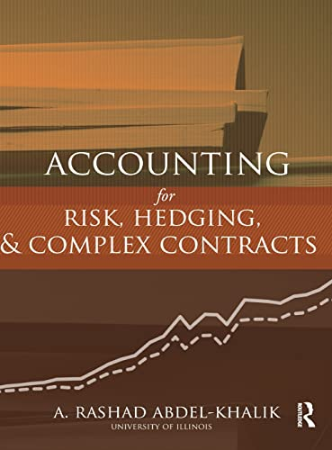 9780415808934: Accounting for Risk, Hedging and Complex Contracts